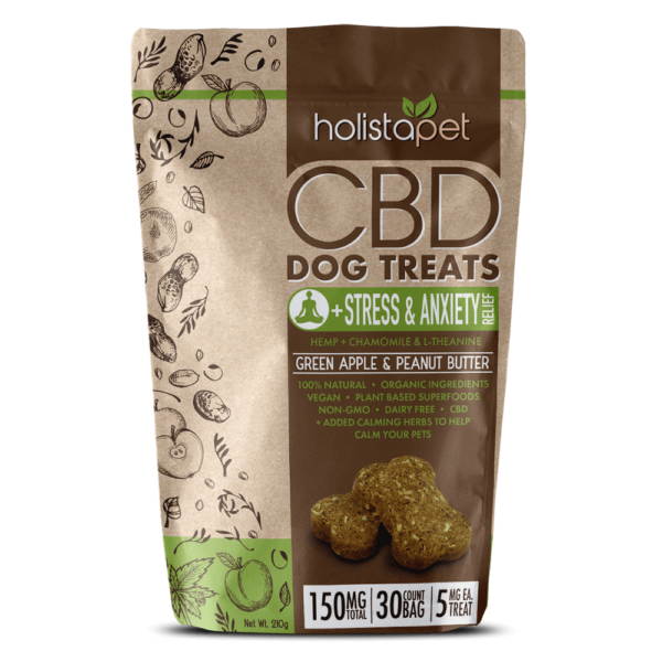 CBD Treats for Dogs with Stress and Anxiety 150mg