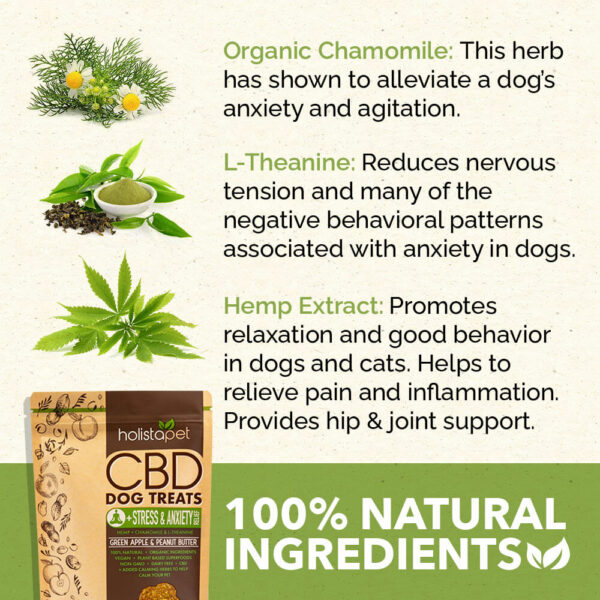 CBD stress and anxiety treat ingredients