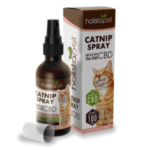 catnip with CBD spray