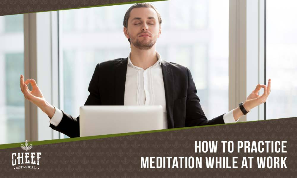 how to meditate at work featured blog image