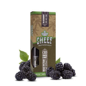 CBD vape cart blackberry