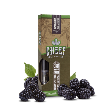 CBD Vape Cartridges Blackberry