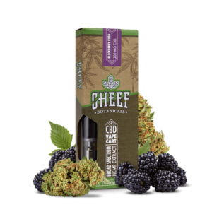 Cheef Botanicals CBD Vape Cart Blackberry Kush