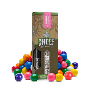 Cheef Botanicals CBD Vape Cart Bubble Gum