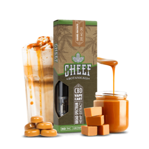 Cheef Botanicals CBD Vape Cart Caramel Mach