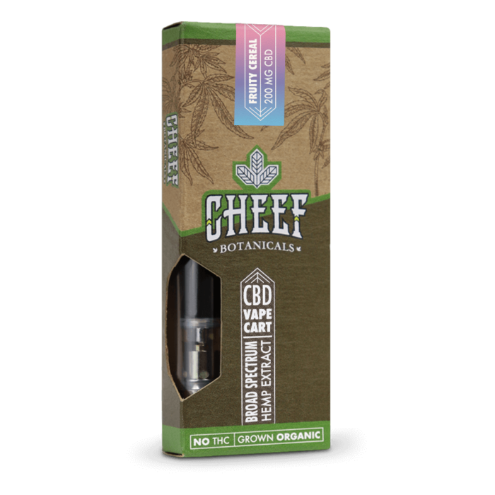 200mg CBD Vape Cartridge Fruity Cereal
