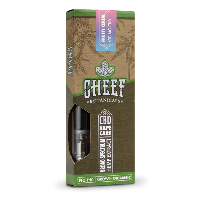 400mg CBD Vape Cartridge Fruity Cereal