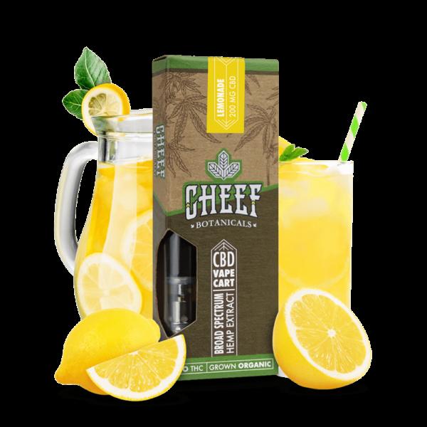 CBD Vape Cart Lemonade