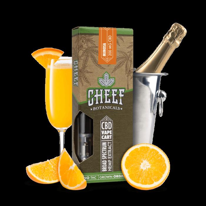 CBD Vape Cart Orange Mimosa