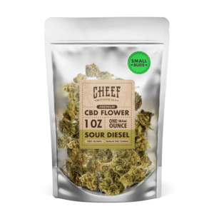 Sour Diesel Small Buds 1 oz - Cheef Botanicals