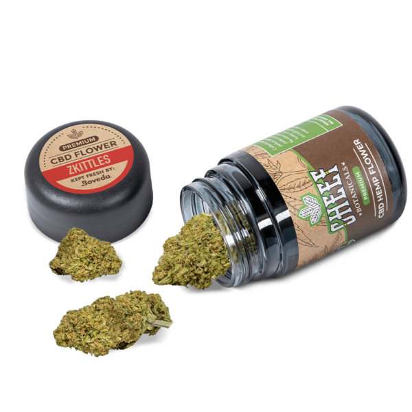 Zkittles Spilled Product Showcasing Buds