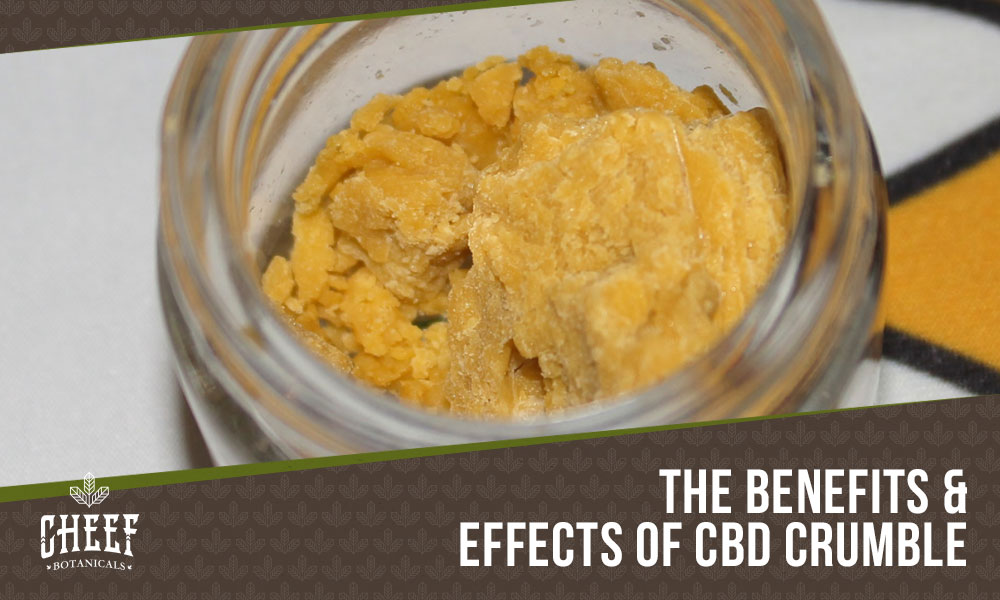 cbd crumble featured image