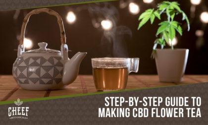 how to make cbd flower tea
