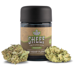 Bubba Kush Cheef Botanicals CBD Flower