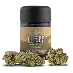 Cheef Botanicals CBD Flower Susie Q Jar