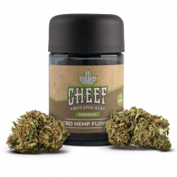 Cheef Botanicals CBD Flower Wagyu Kush Jar