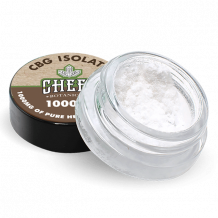 Cheef CBG Isolate jar with